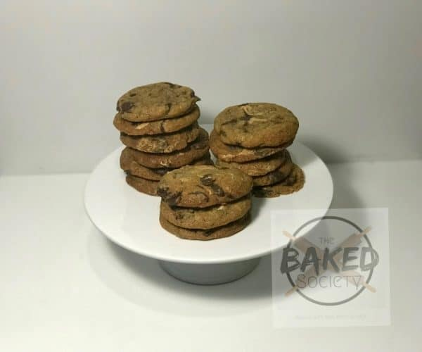 peanut butter callebaut chewy cookies