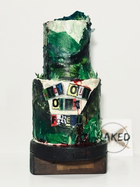 my favourite favorite murder cake stay out of the forest